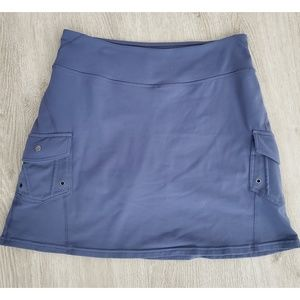 Athleta Skirt Gray Size Small